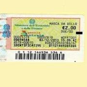 marca da bollo da due euro sulle fatture