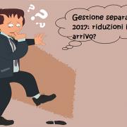 Sconti gestione separata INPS 2017