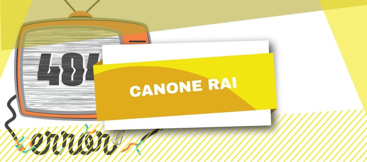 La disdettta del canone RAI