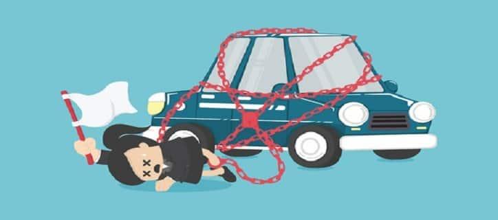 Bollo auto non pagato: cosa succede?