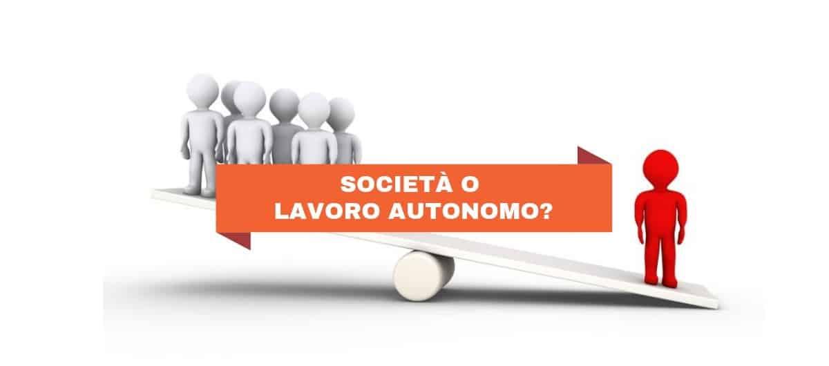 Aprire partita IVA lavoro autonomo o società