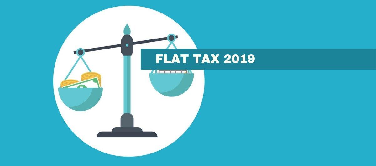 Ecco tutte le flat tax 2019
