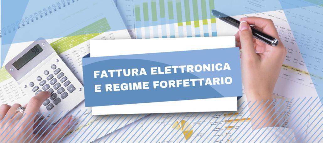 Regime forfettario e fattura elettronica