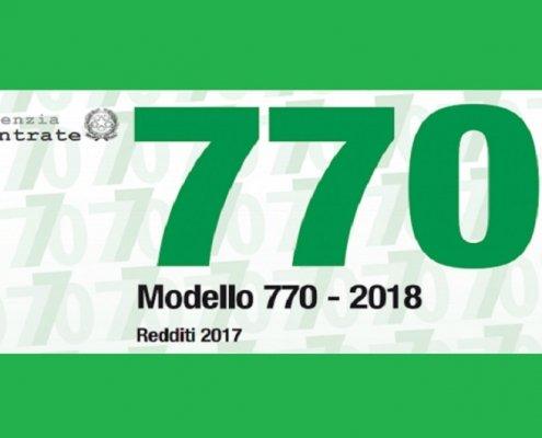 Dichiarazione 770/2018