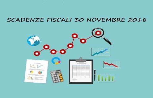 scadenze fiscali 2018