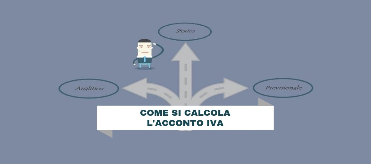 Acconto IVA: come si calcola