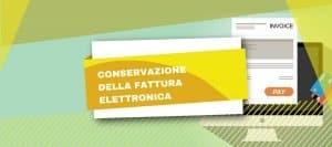 Conservazione fattura elettronica