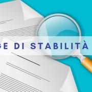 LEGGE DI STABILITà 2019