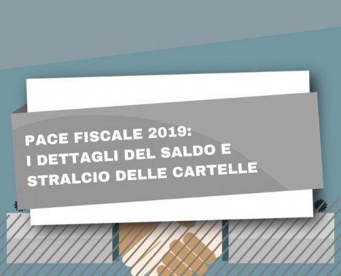 I dettagli della pace fiscale 2019