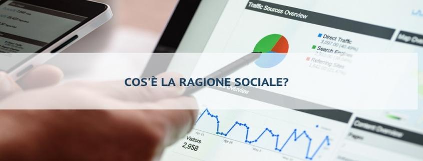 ragione sociale e denominazione sociale