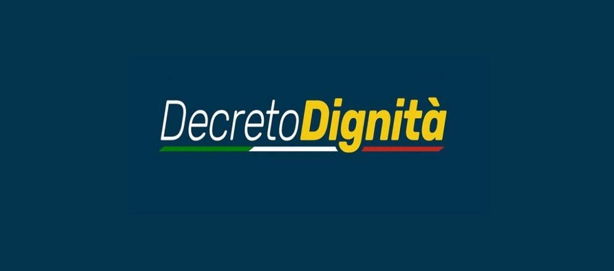 Novità del decreto dignità