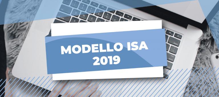 modello ISA 2019