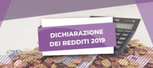dichiarazione dei redditi 2019
