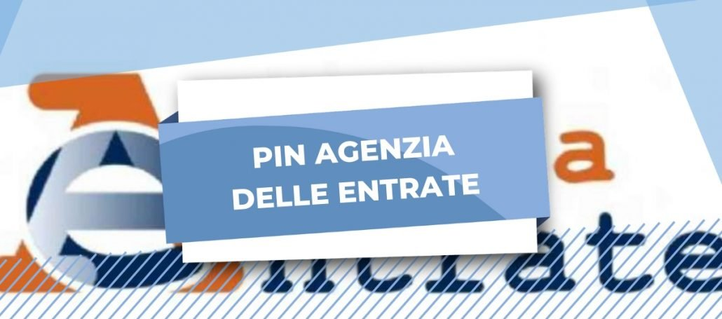pin agenzia delle entrate