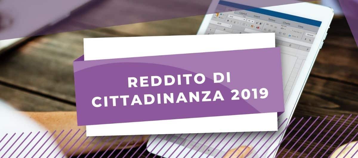 REDDITO CITTADINANZA 2019