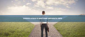 Ateco: il codice per la gestione separata
