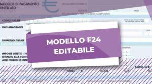 f24 editabile
