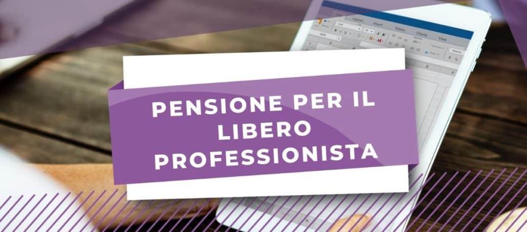 pensione libero professionista