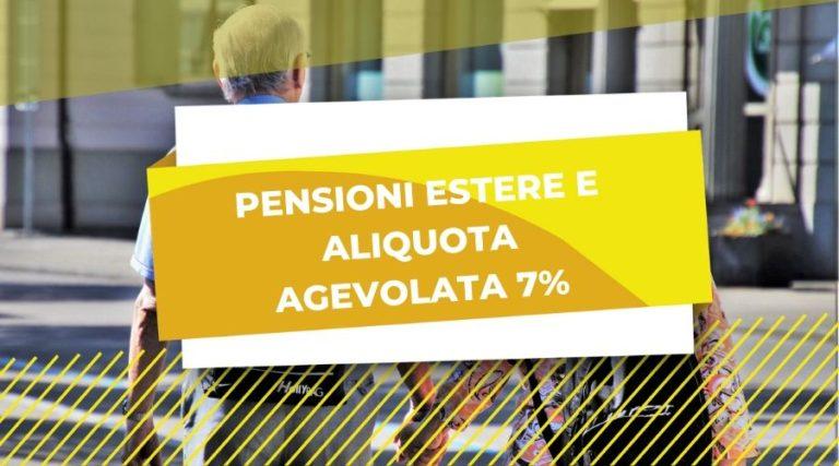 pensioni estere