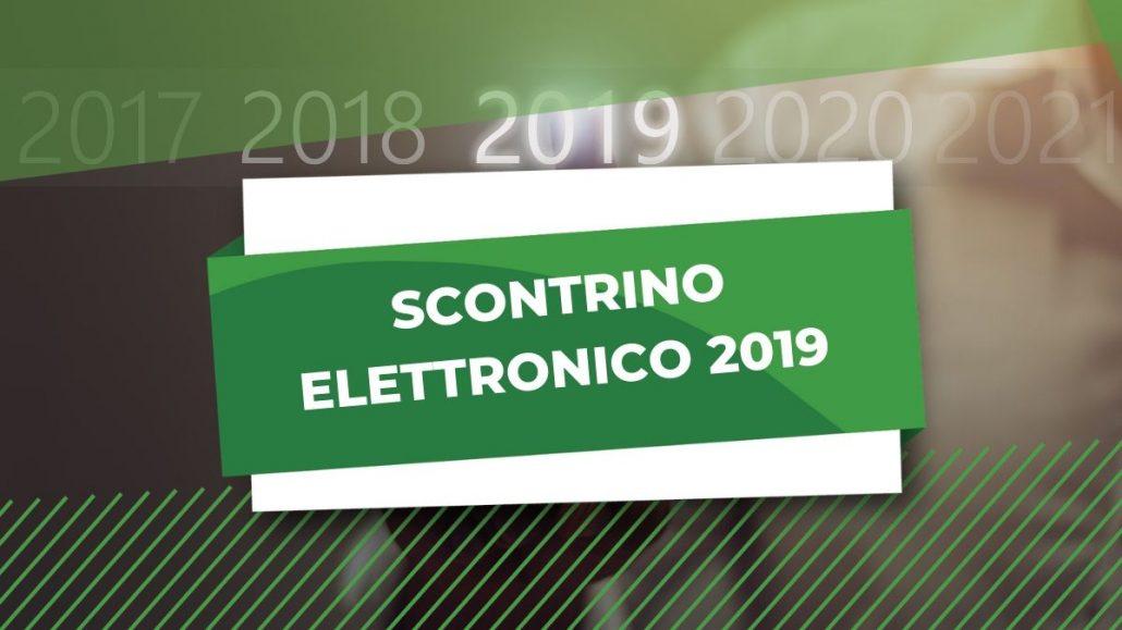 scontrino elettronico 2019