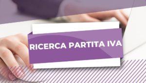 RICERCA PARTITA IVA