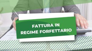 FATTURA REGIME FORFETTARIO