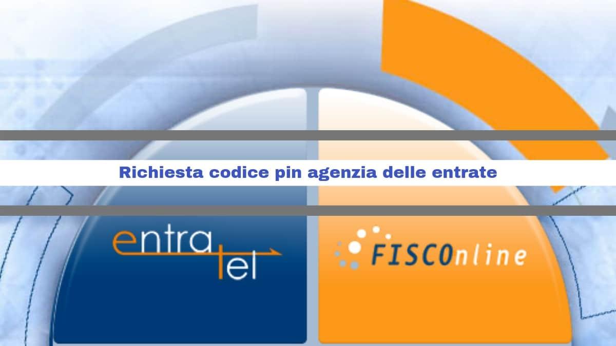 Codice pin agenzia delle entrate: ecco come richiederlo
