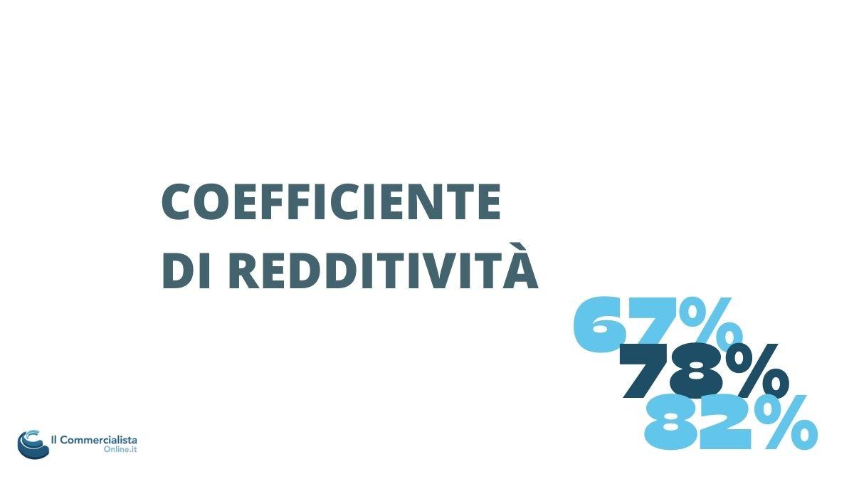 coefficiente redditività