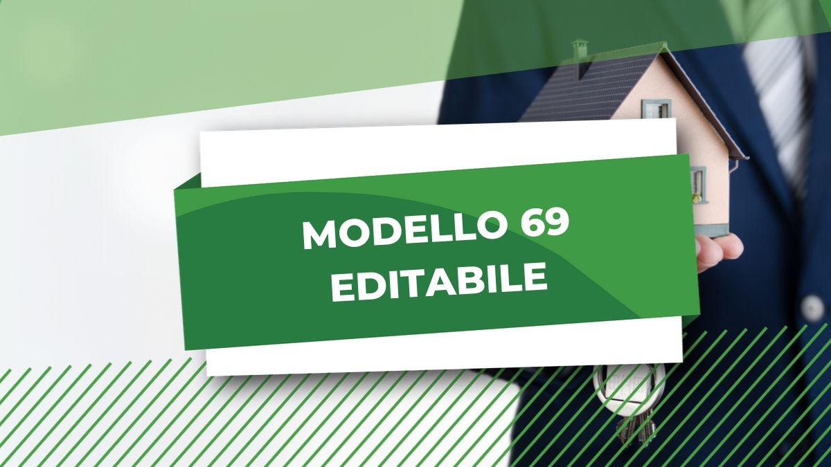 MODELLO 69 EDITABILE