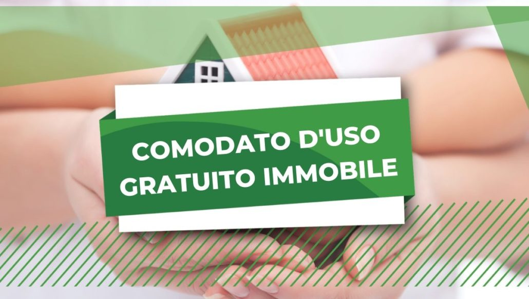 COMODATO D'USO GRATUITO