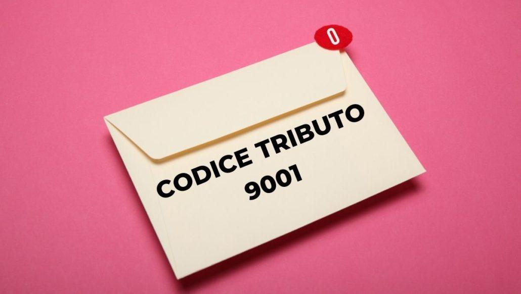 CODICE TRIBUTO 9001
