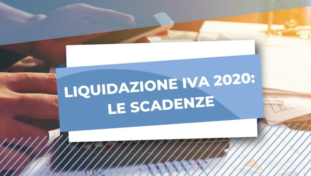 LIQUIDAZIONE IVA 2020
