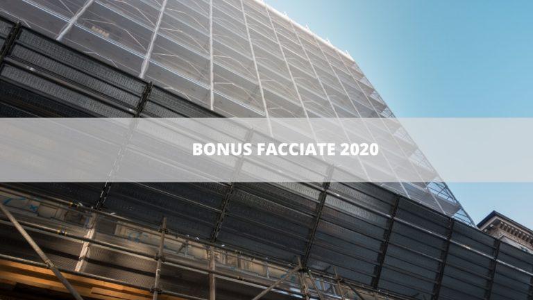 Cos'è il Bonus Facciate 2020