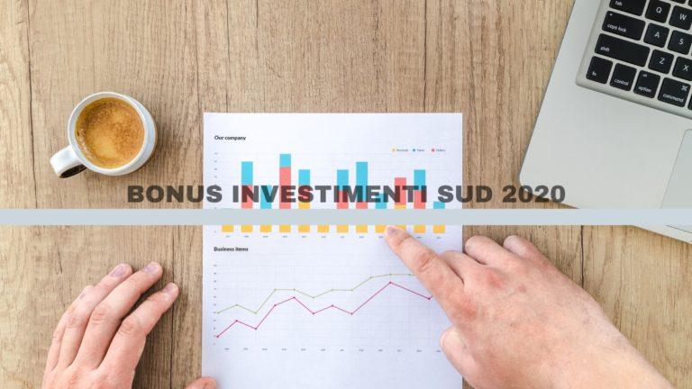 Come funziona il Bonus investimenti sud 2020