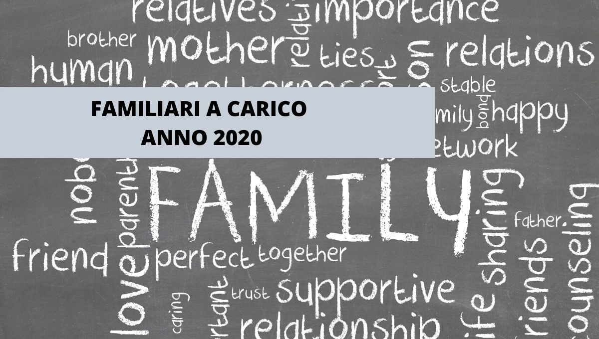 FAMILIARI A CARICO 2020