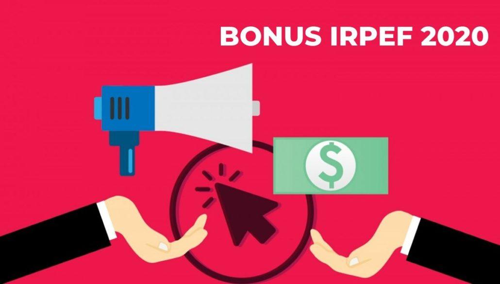 BONUS IRPEF 2020