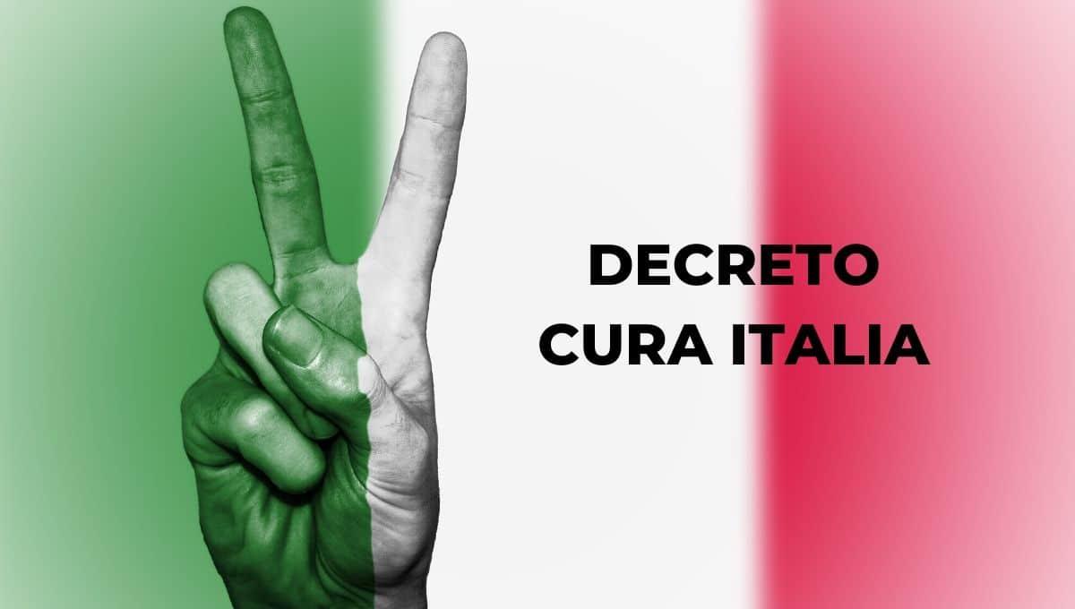 DECRETO CURA ITALIA CORONAVIRUS