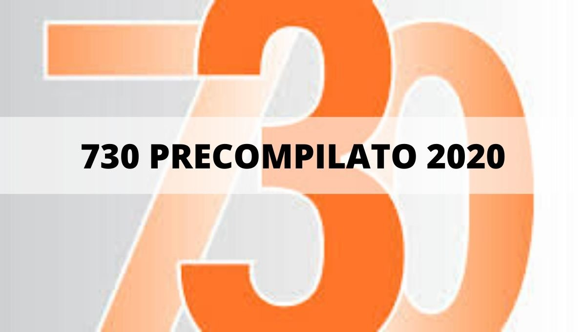 730 PRECOMPILATO 2020