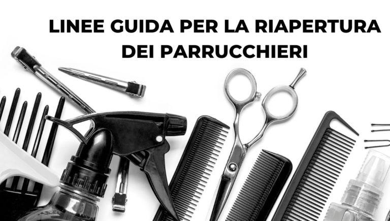 linee guida per i parrucchieri