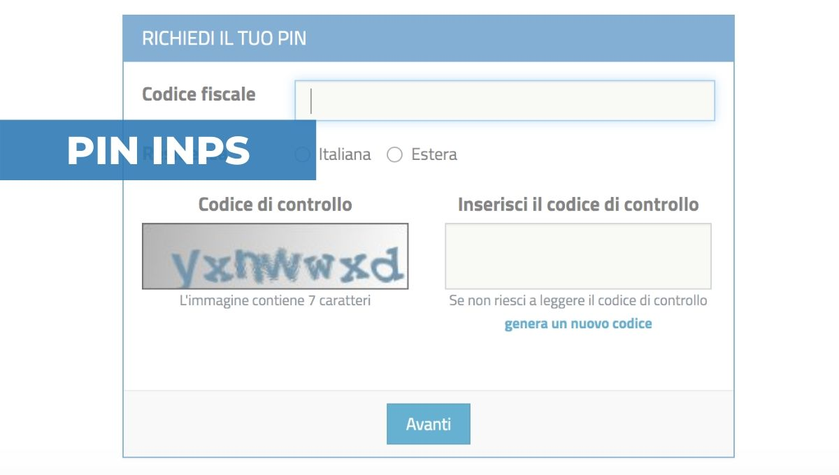 PIN INPS SEMPLIFICATO E PIN DISPOSITIVO
