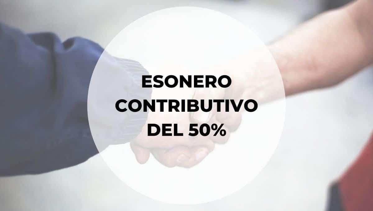 esonero contributivo del 50% agevolazione per le assunzioni