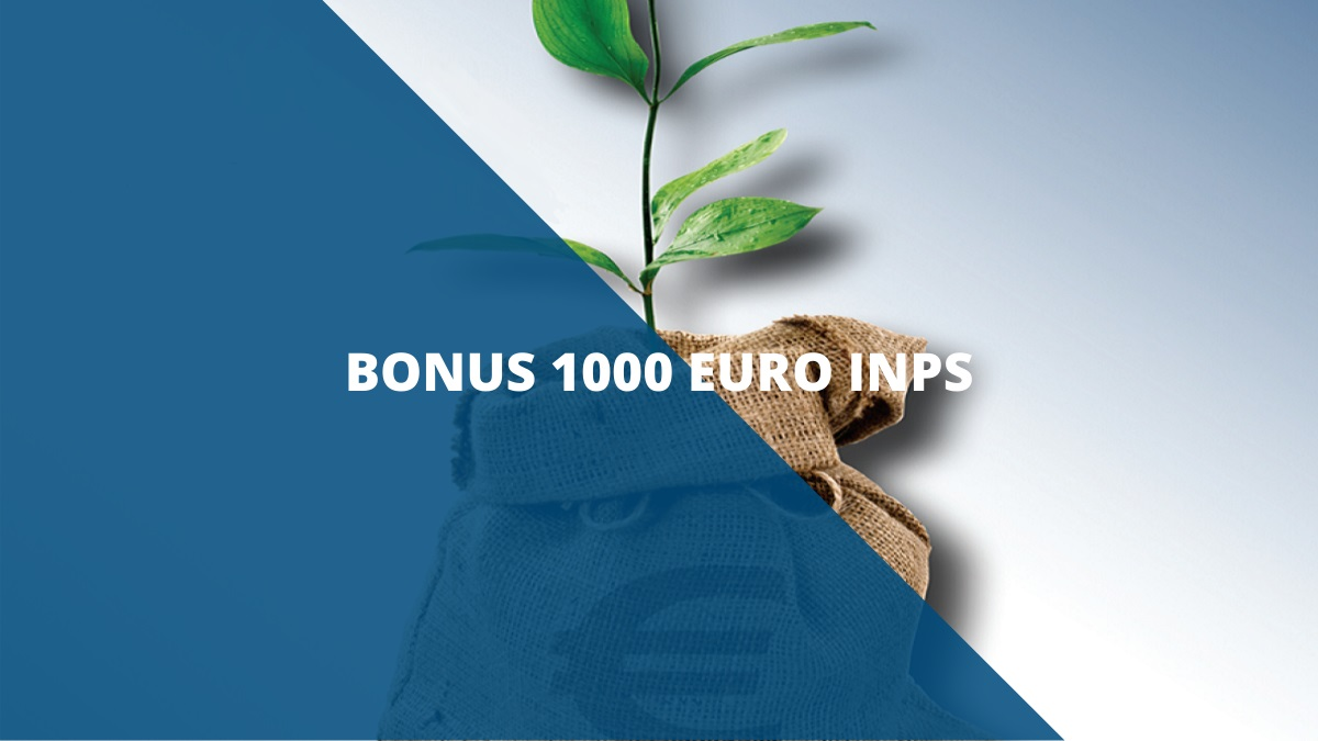 Bonus 1000 euro inps Maggio