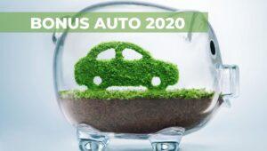 bonus auto 2020 ecobonus