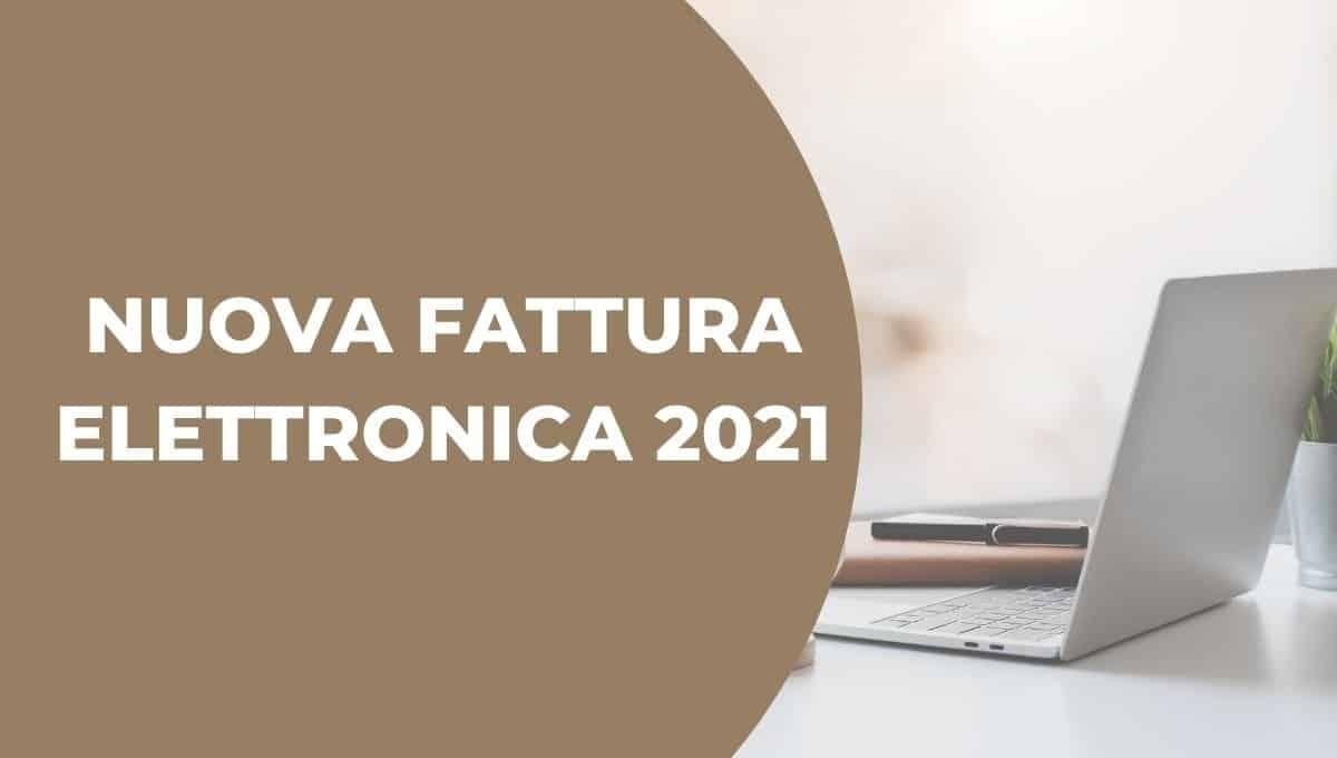 fattura elettronica 2021