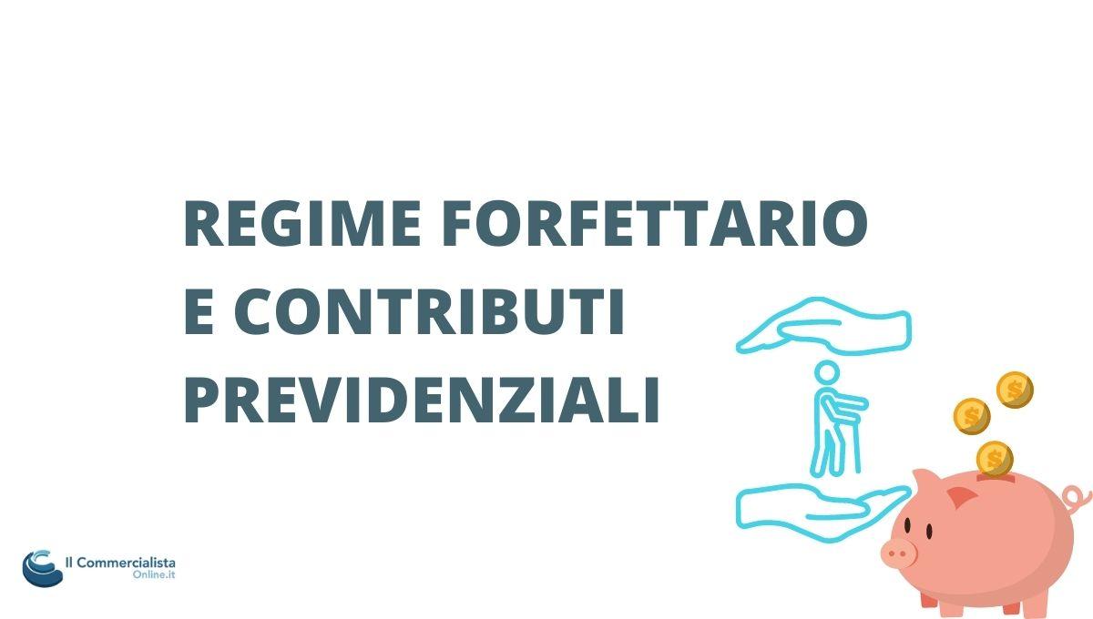 Contributi previdenziali forfettario