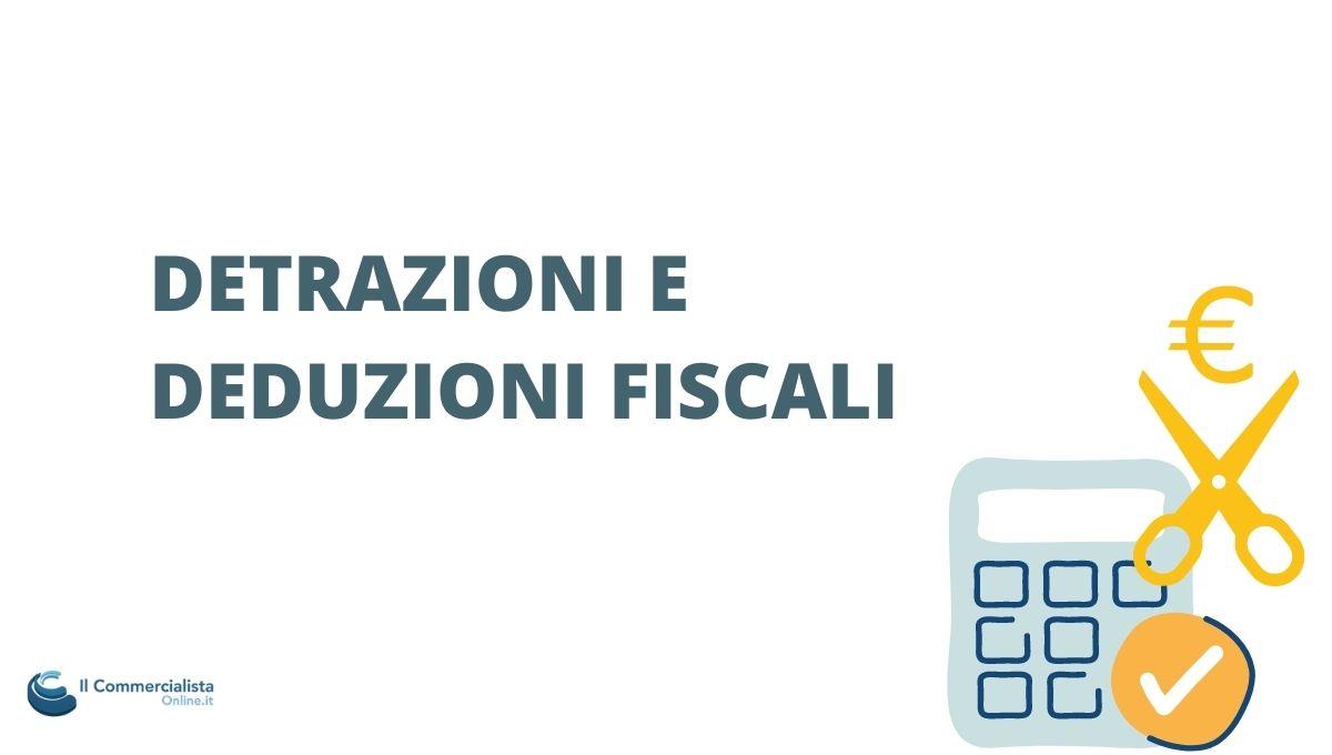 detrazioni fiscali forfettario
