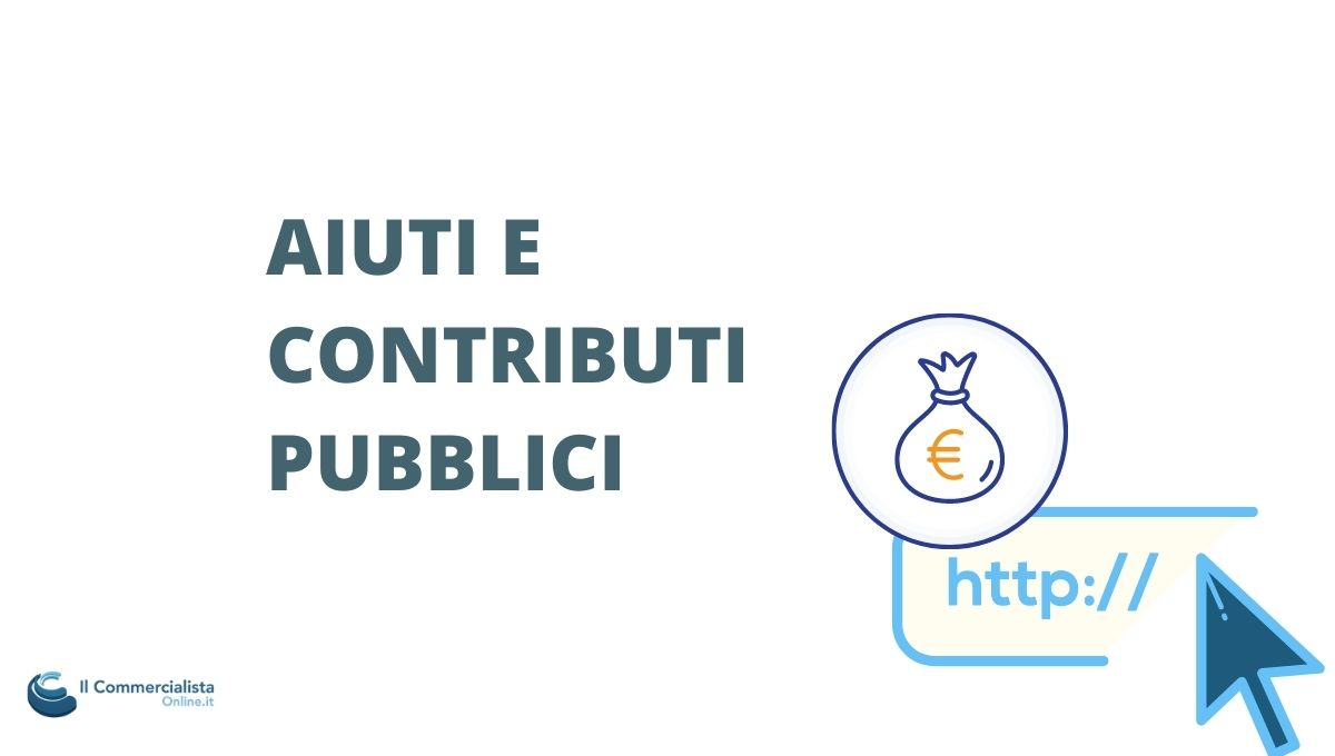 CONTRIBUTI PUBBLICI OBBLIGO PUBBLICAZIONE